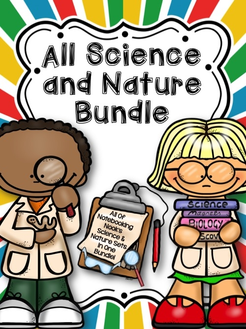 Science & Nature Notebooking Bundle Only $12.50! (Reg $25!) Today Only!