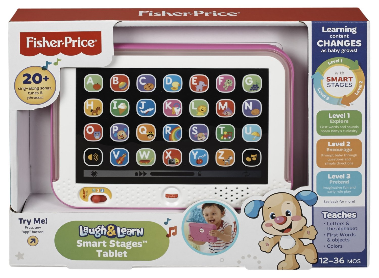 Fisher Price Laugh and Learn Smart Stages Tablet Only $11.24! (25% Off!)