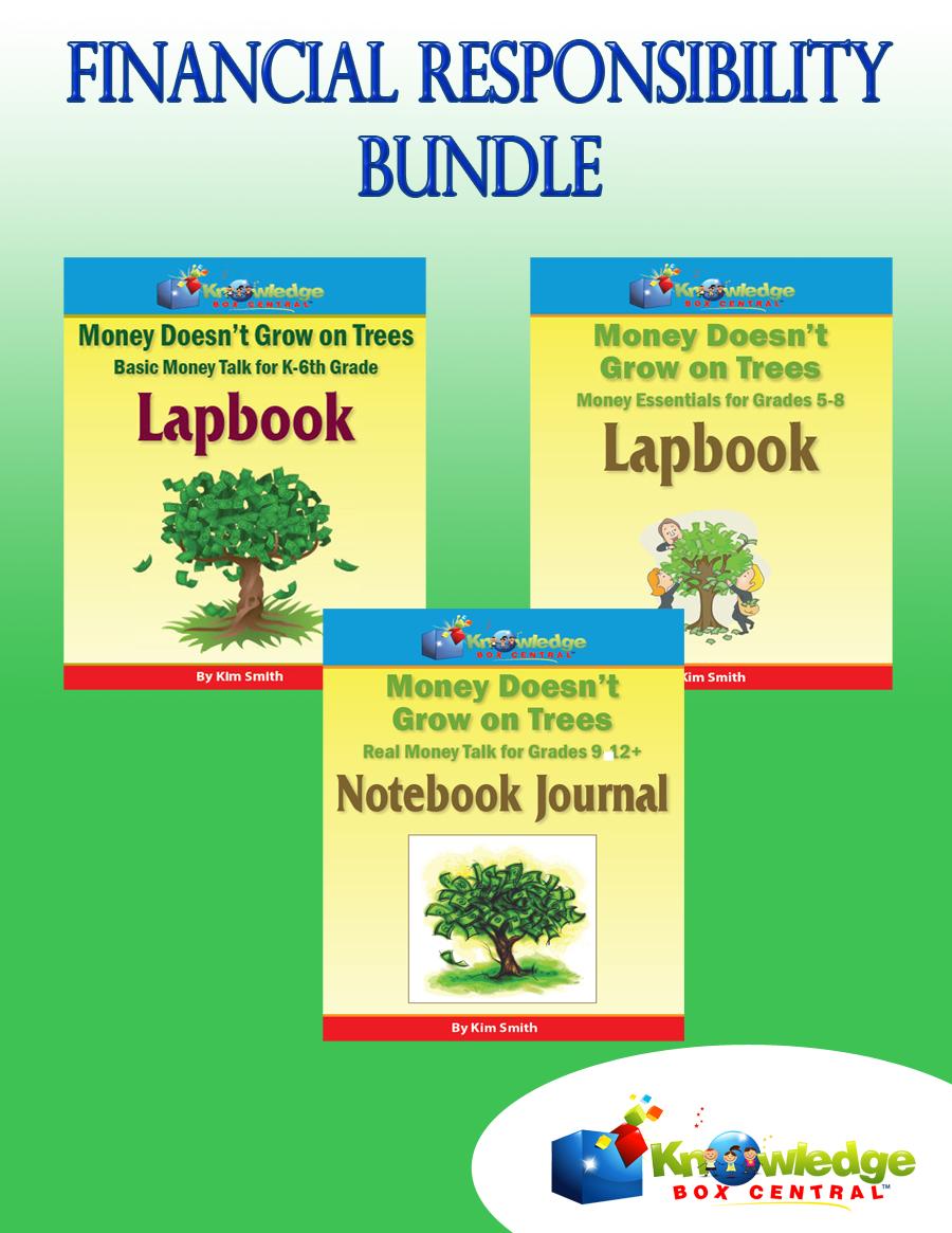 Financial Responsibility Bundle Only $5! (Reg. $15!)