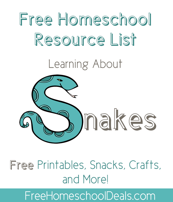 Free Snake Homeschool Resources