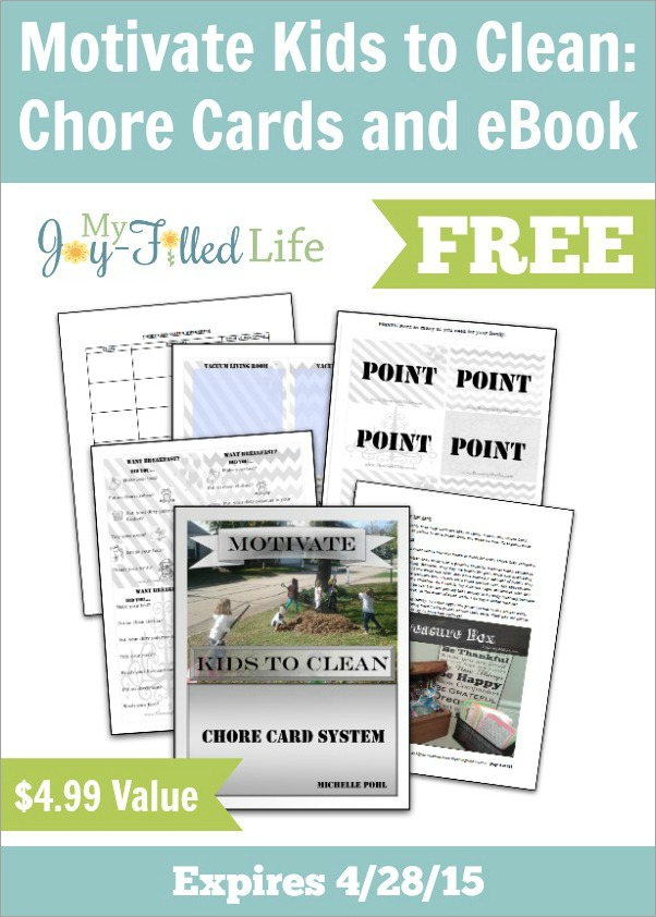 FREE Chore Cards and eBook