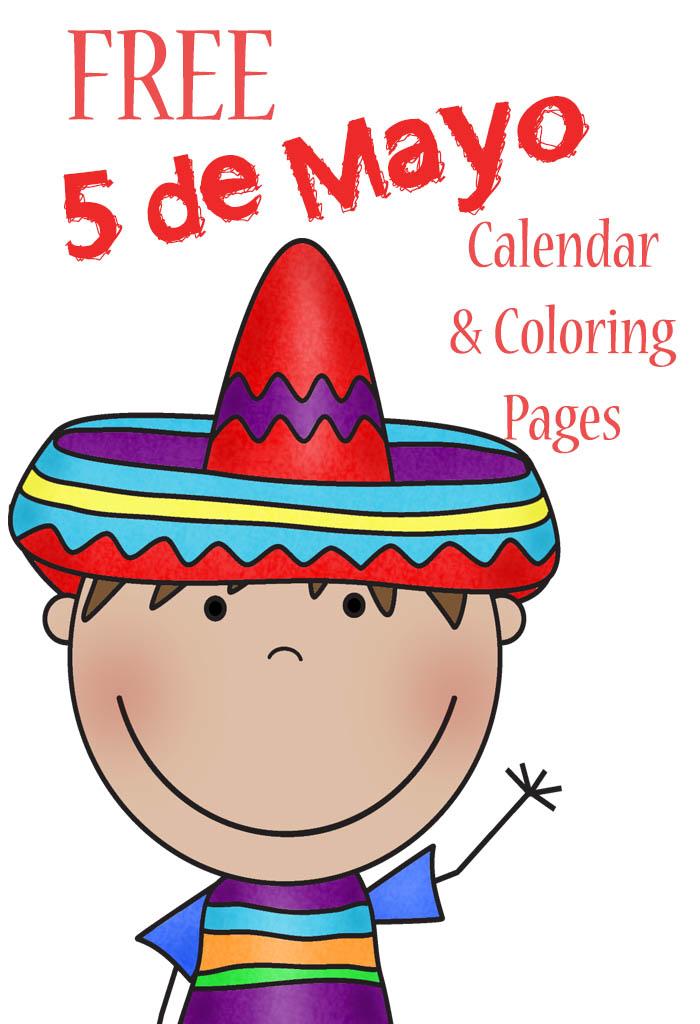 FREE 5 Mayo Calendar Printables