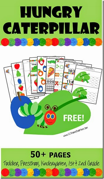 FREE Hungry Caterpillar Printables