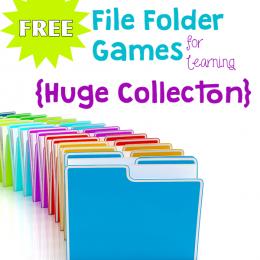 Free File Folder Games