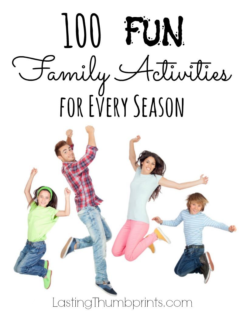 100 Fun Family Activities