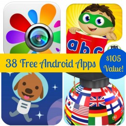 38 Free Android Apps: Super Why ABC Adventure, Language Coach, & More! ($105 Value!)