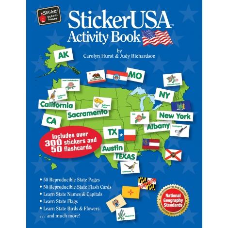 Sticker USA Activity Book Only $11.69! (Reg. $19.99)