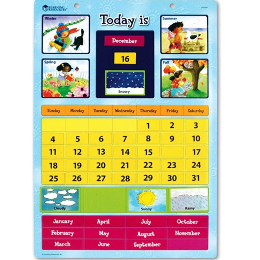 Learning Resources Magnetic Learning Calendar Only $13.03! (Reg. $19.99!)