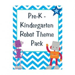 Free Robot Themed Worksheets
