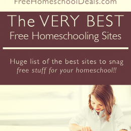 The VERY BEST Free Homeschooling Sites!!
