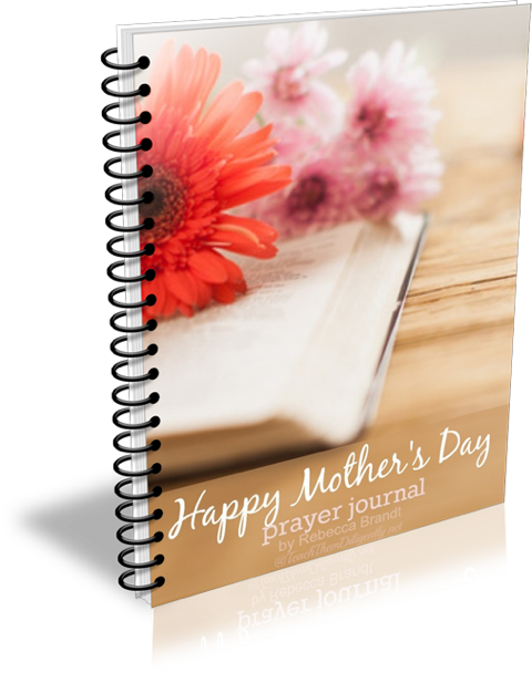 FREE Mother's Day Prayer Journal
