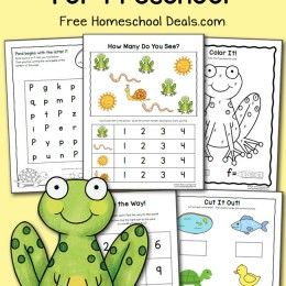 FREE PRESCHOOL POND PRINTABLES (instant download)