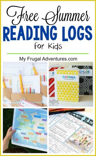 FREE Summer Reading Logs
