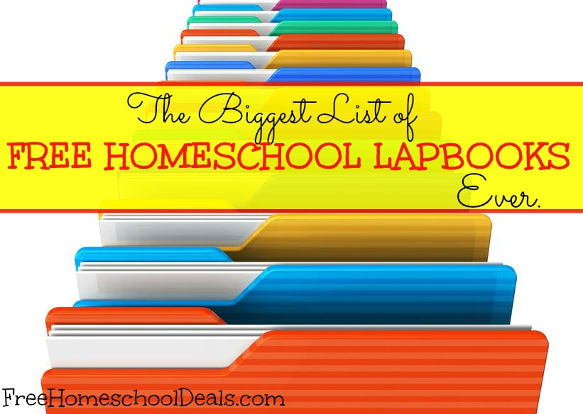 FREE Lapbook List