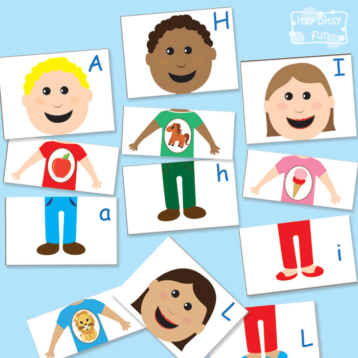 FREE Alphabet Puzzle Printables | Free Homeschool Deals