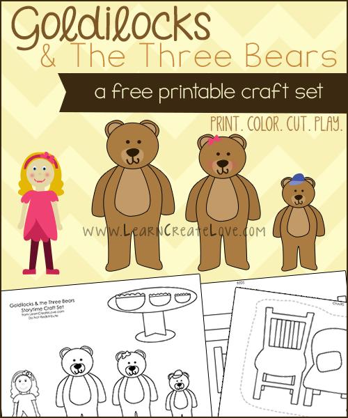 FREE Goldilocks and the 3 Bears