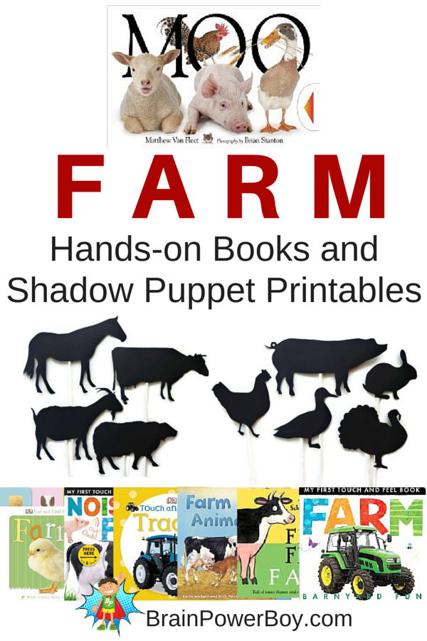 FREE Farm Shadow Hand Puppets
