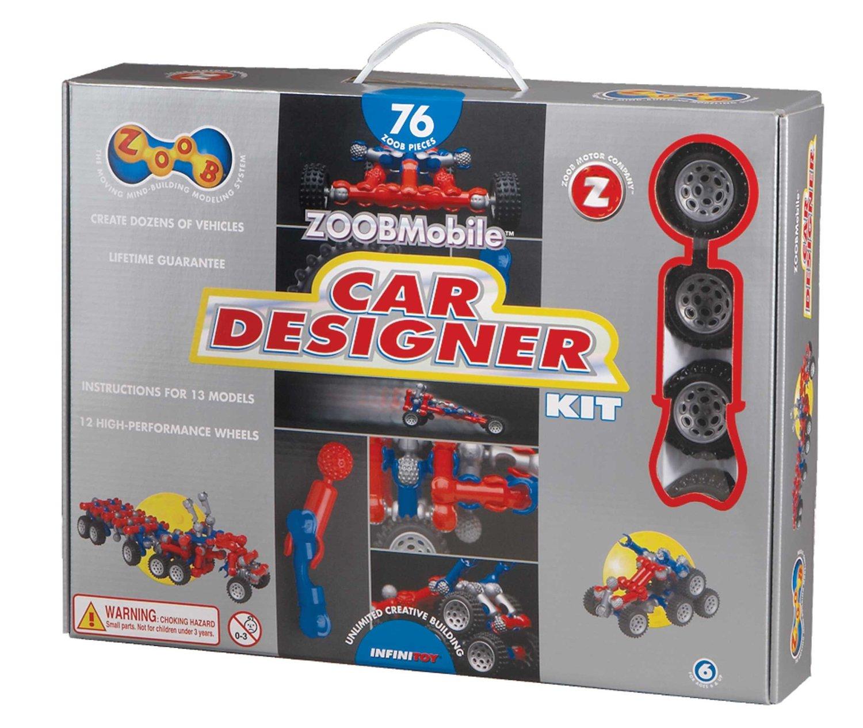 ZOOB Car Designer Set Only $23.37! (Reg. $39.50)