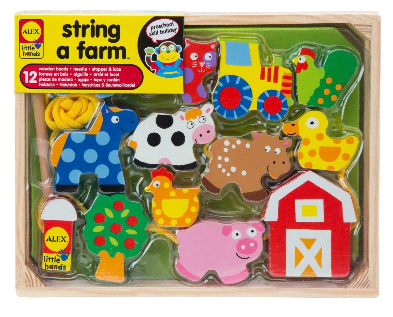Alex Toys String-A-Farm Set Only $10.87! (Reg. $16.50)