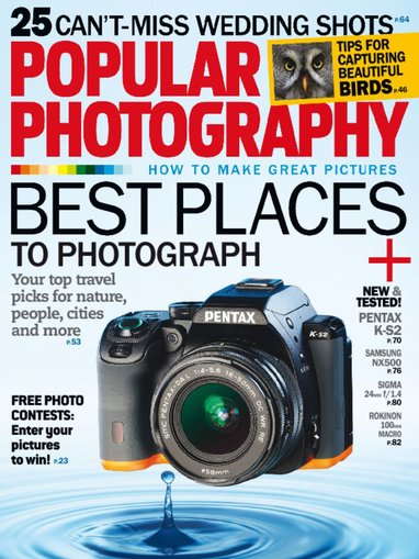 Popular Photography Magazine Only $4.99/Year!