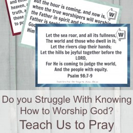 FREE Verse and Worship Cards