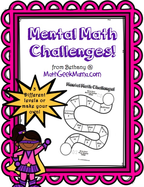 FREE Math Challenge Game