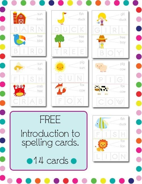 FREE Spelling Pack