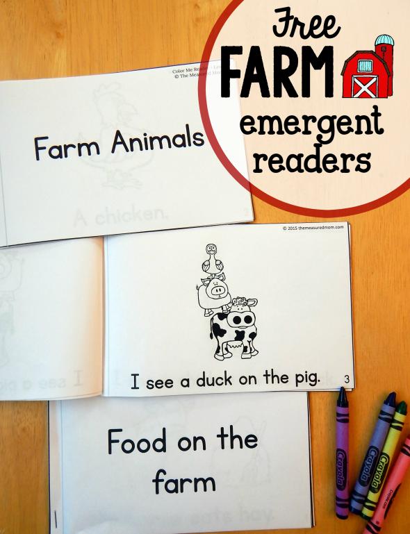 FREE Farm Emergent Readers