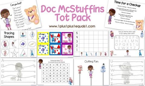 Doc McStuffins Pack