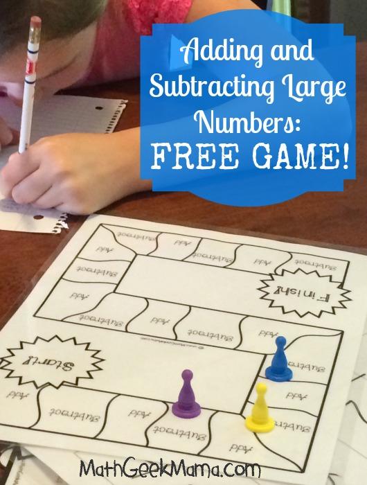 FREE Math Game