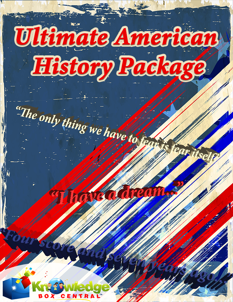 Ultimate American History Package Only $50! (Reg. $175!)