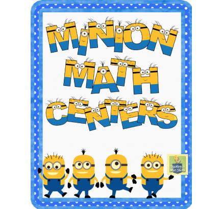 Free Minion Math Activities