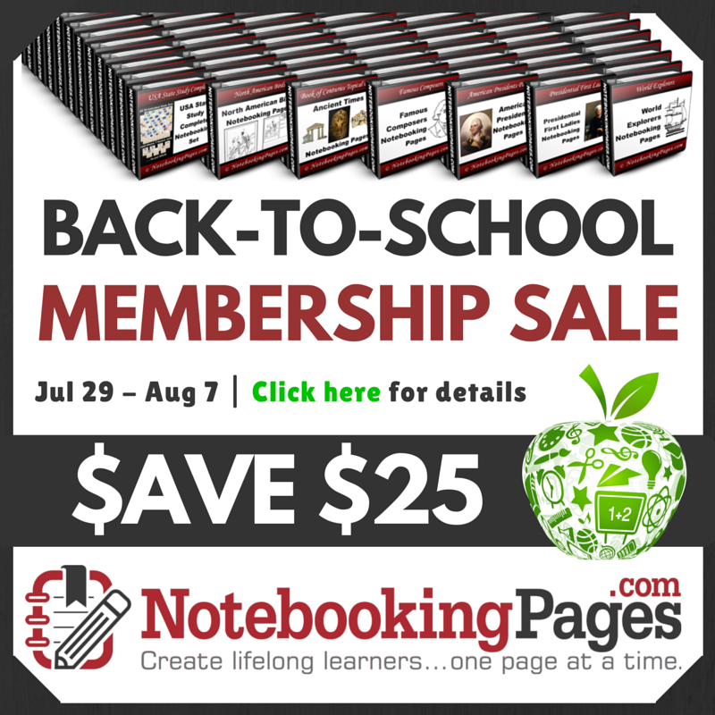 $25 Off Notebooking Pages LIFETIME Membership + BONUSES!