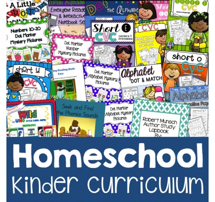 Homeschool Kindergarten Curriculum Only $27! (Reg. $90!)