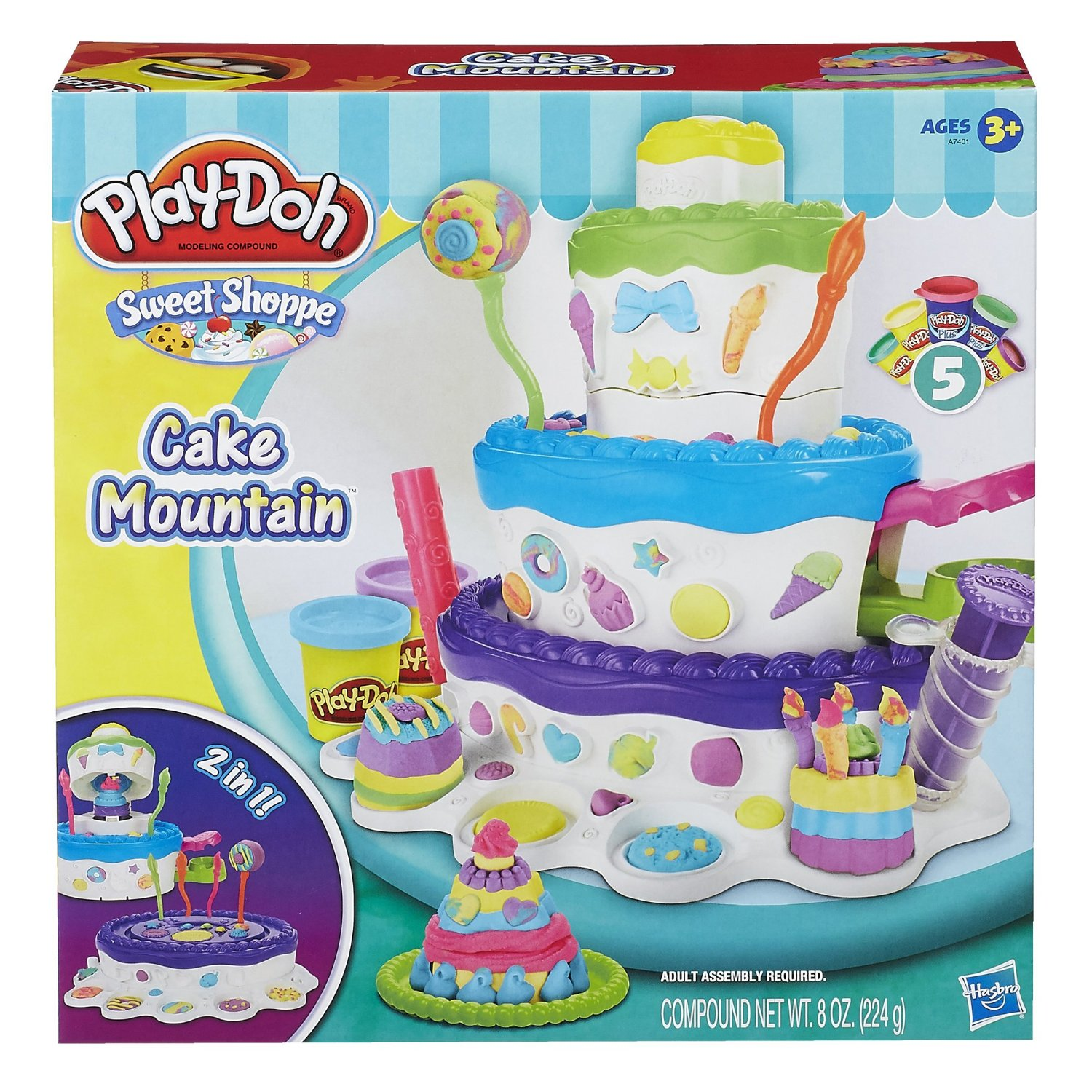 Play-Doh Sweet Shoppe Cake Mountain Playset Only $7.59! (Reg. $20!)