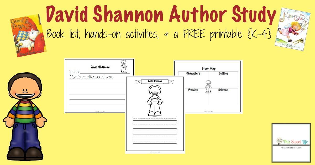 FREE Author Study
