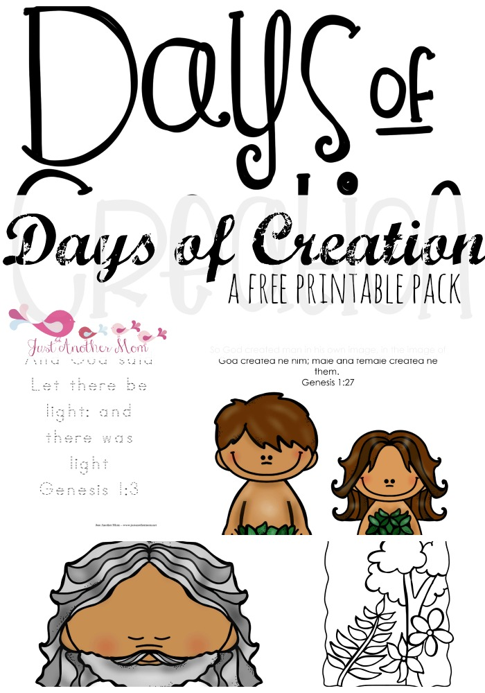 Creation Story for Toddlers