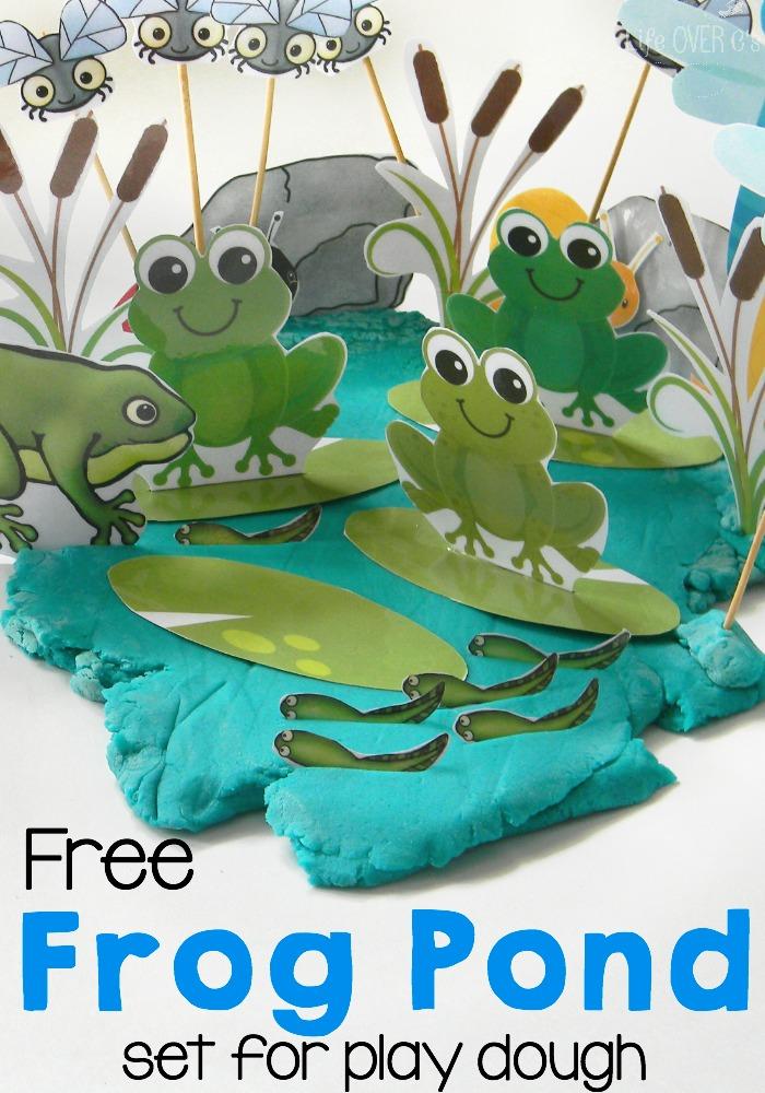FREE Frog Palydough Set