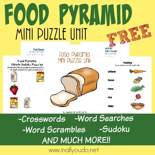 FREE Food Pyramid Pack