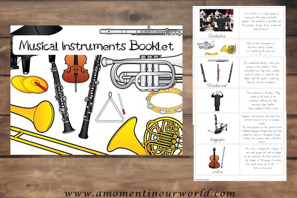 FREE Music Booklet