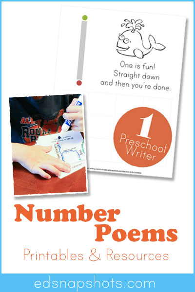FREE Number Poems