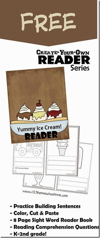 FREE Ice Cream Printables