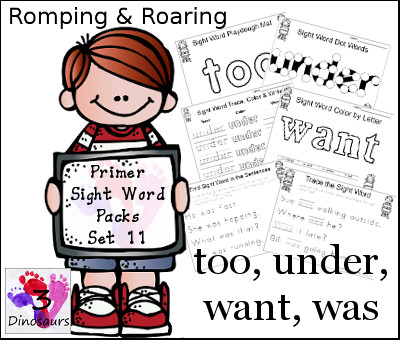 FREE Sight Word Pack