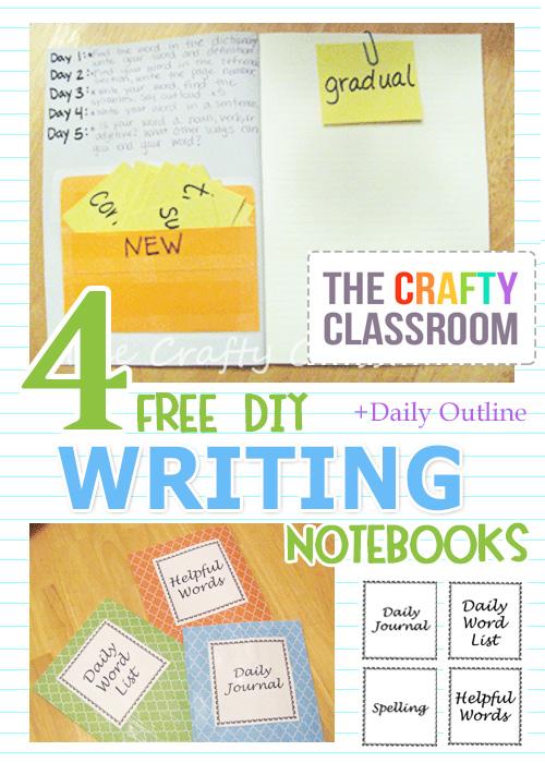 FREE Writing Notebooks