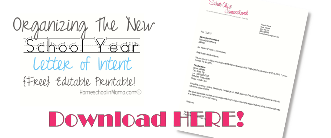 Free Editable Letter Of Intent