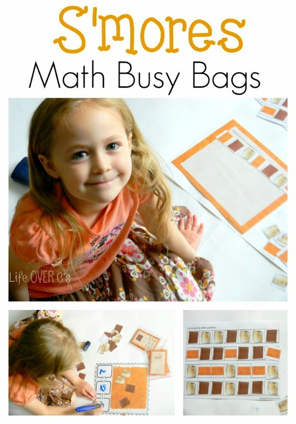FREE Math Busy Bags