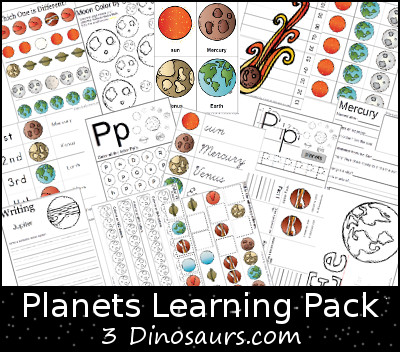 FREE Planets Learning Pack