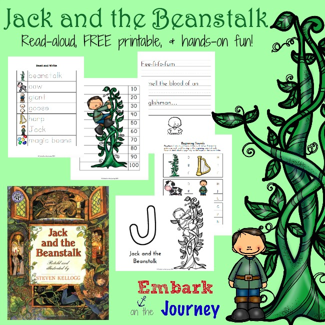 image relating to Jack and the Beanstalk Printable called Absolutely free Jack and the Beanstalk Printable
