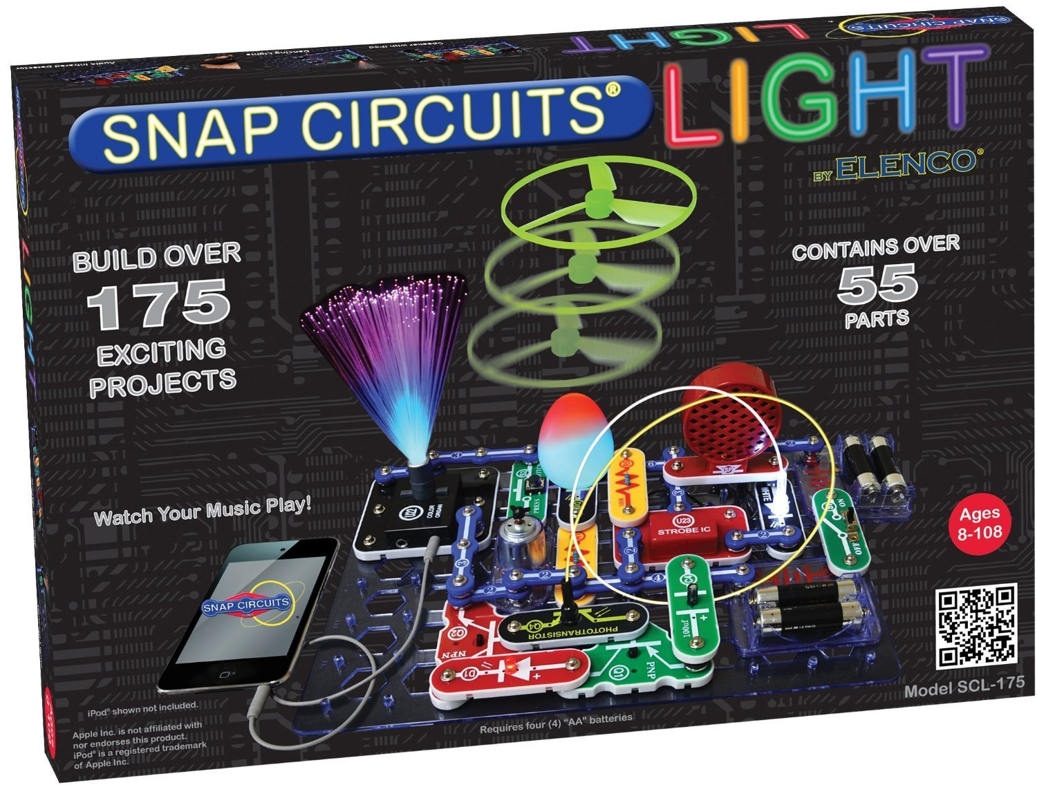 Snap Circuits Lights Discovery Kit Only $36.41! (Reg. $80!)
