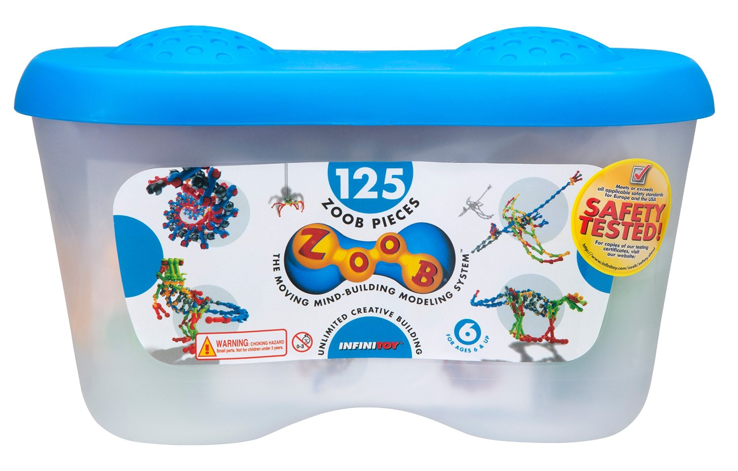 ZOOB 125 Piece Building Set Only $17! (Reg. $42!)